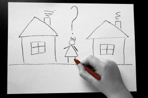 Место жительства ребенка при разводе родителей